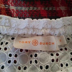 Tory Burch Tops - White eyelet tunic by Tory Burch